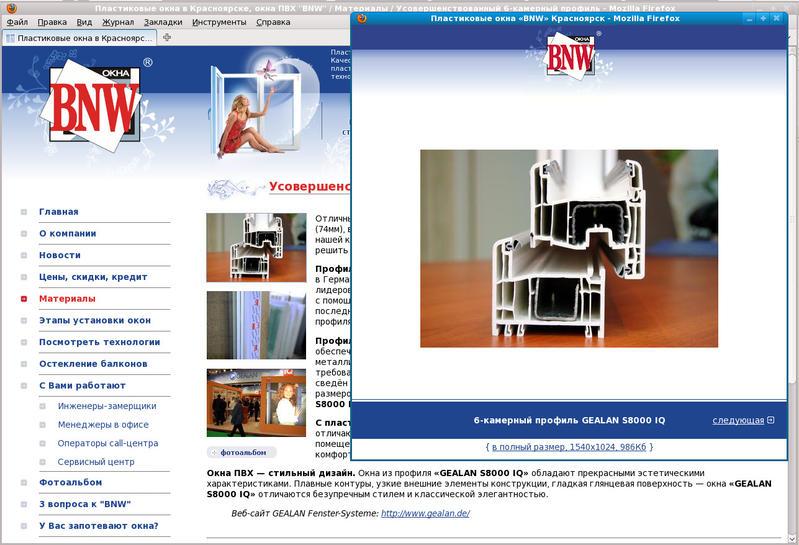 www.oknabnw.ru: Статья с фотоальбомом иллюстраций