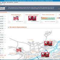 www.1-to-1.ru: Точки на карте